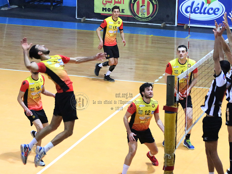 Play-off de volley : EST-CSS, en photos