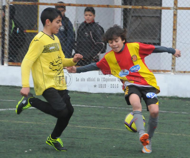 Jeunes/Ecoles B1: Images du match EST-CAB (6-0)