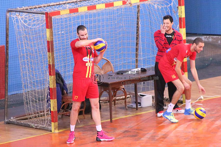 Volley: Les images du match EST-MSB (3-0)