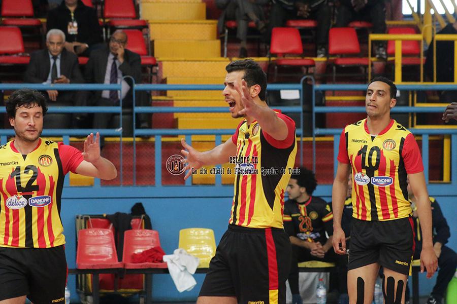 CACC Volley: Les images du match Espérance-Ahly Benghazi (3-0)