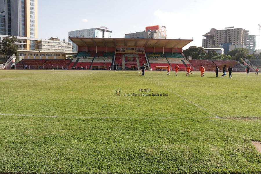 Entraînement des pros aujourd'hui à Addis Abeba (photos)