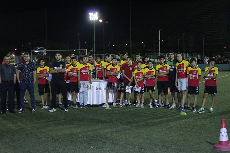 Cérémonie pour nos futurs champions (photos)