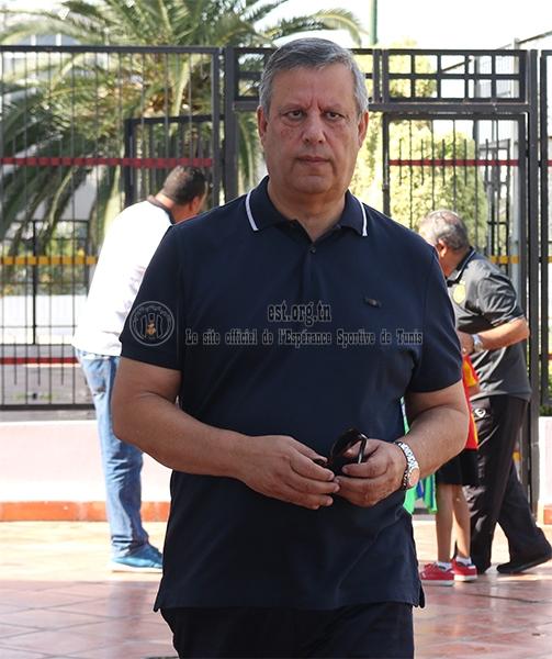 Entrainement des Pros sous les yeux de M.Hamdi Meddeb (Photos)
