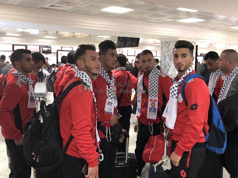 Arrivée de Taraji de Palestine à Tunis (photos)