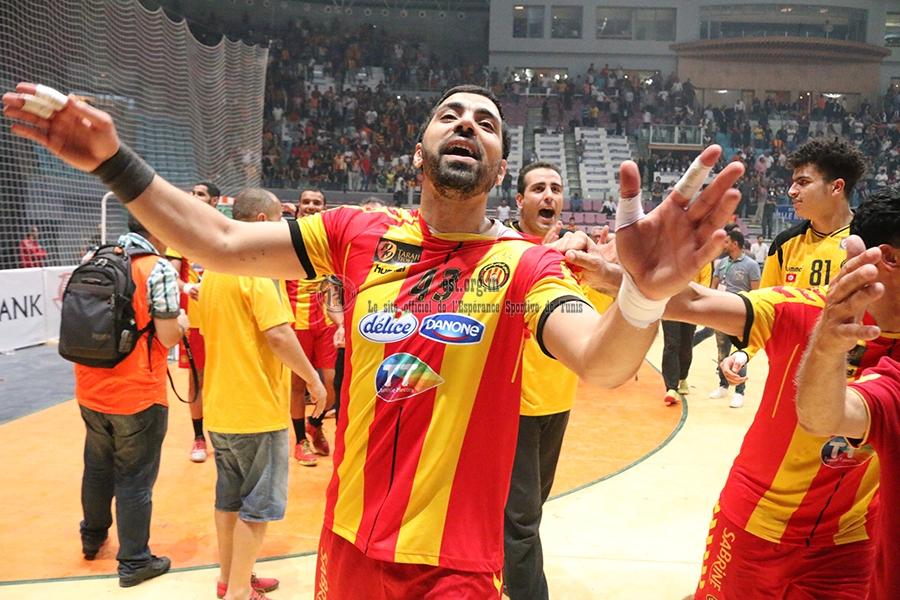 Nos handballeurs fêtent la coupe (photos)