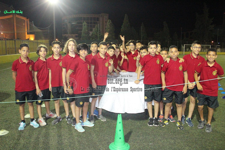Cérémonie pour nos jeunes champions (photos en direct du parc B)