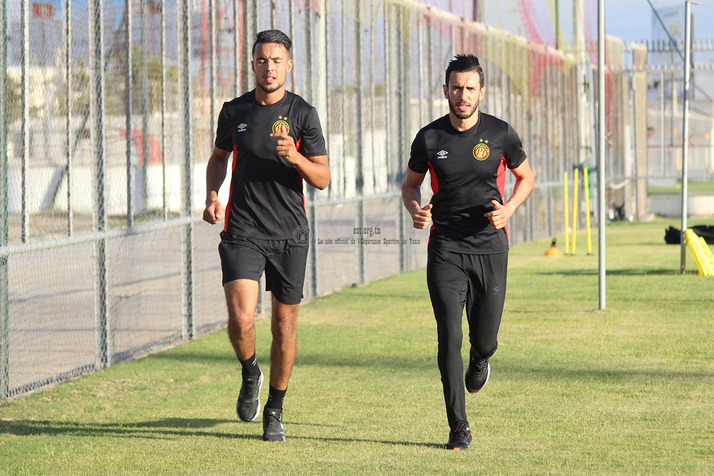 Premier entraînement de Rami Jeridi et Aymen Mahmoud (photos)