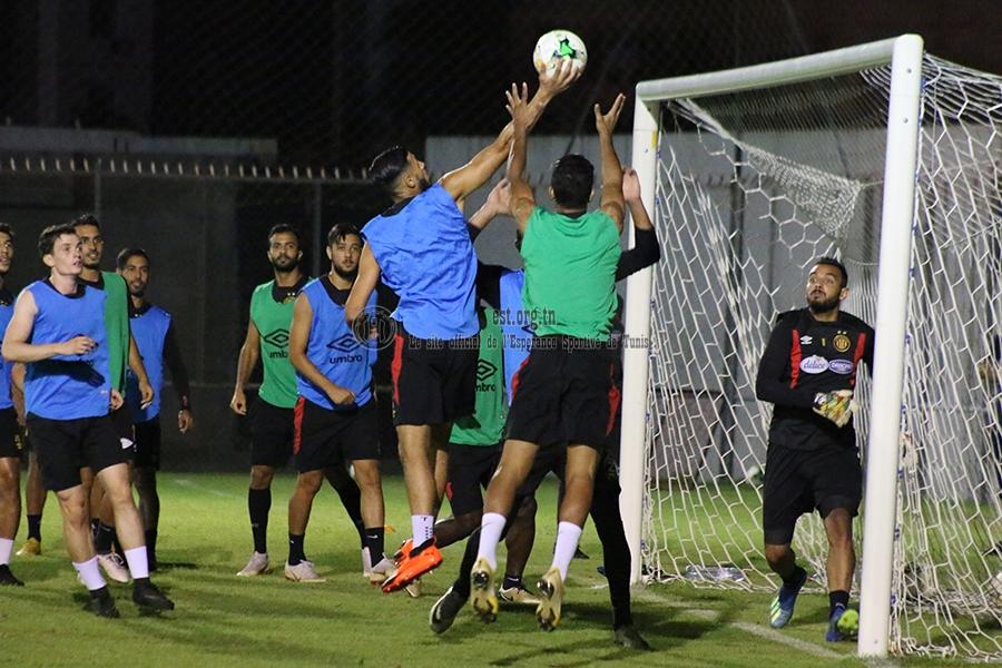 Dernier entrainement avant Al Ahly (Photos)