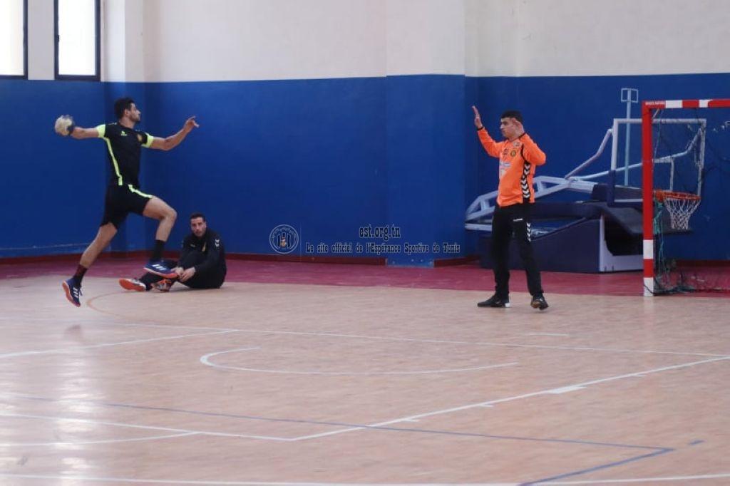 Deuxième séance d'entrainement des Handballeurs (Photos)