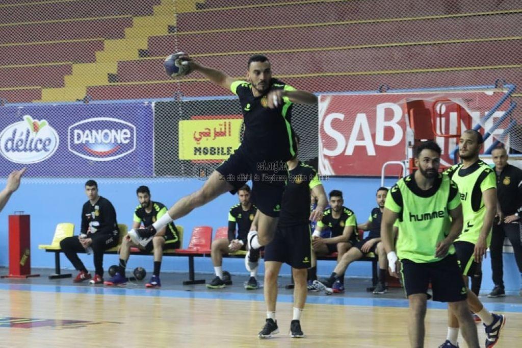 Dernier entrainement des Handballeurs avant l'ESS (Photos)