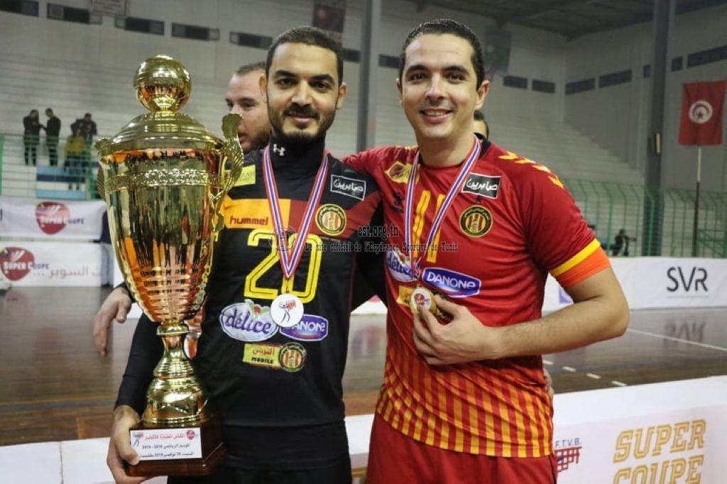 [Volleyball] L'Espérance de Tunis remporte la Super Coupe (Photos)