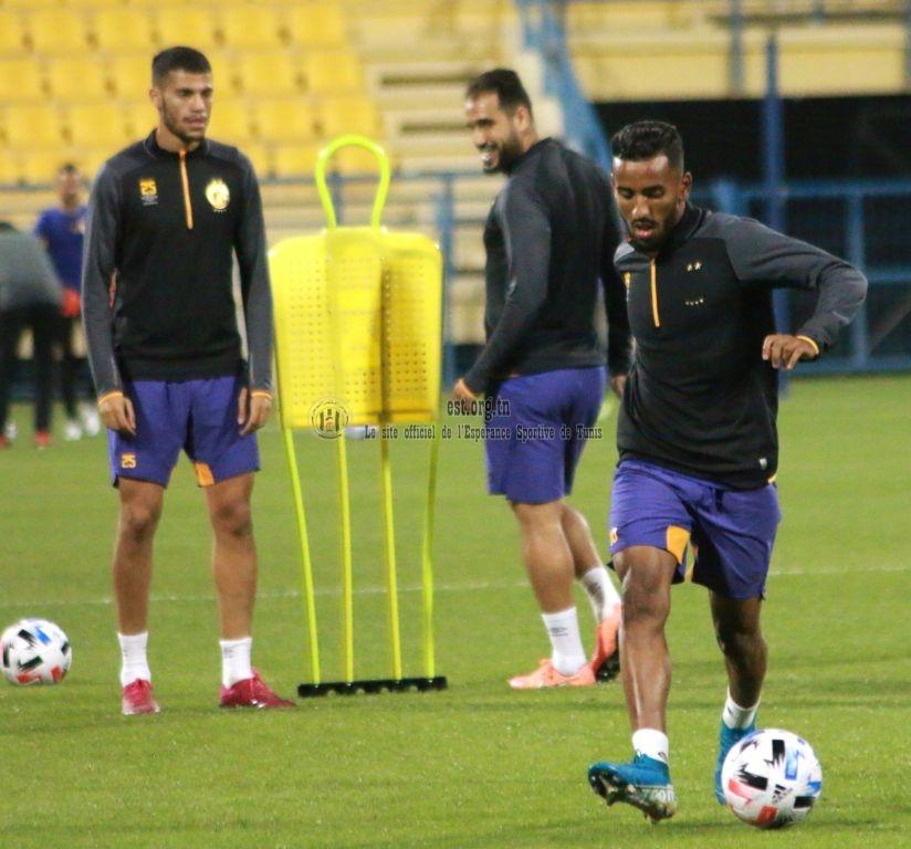 Equipe PRO: L'entrainement du jour à Doha en images