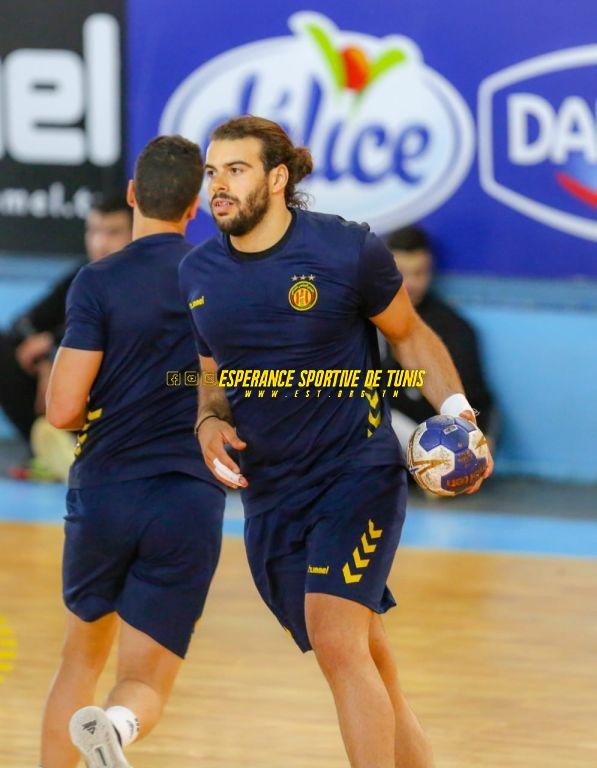 Handball: Dernier entrainement avant la rencontre EST-ESS