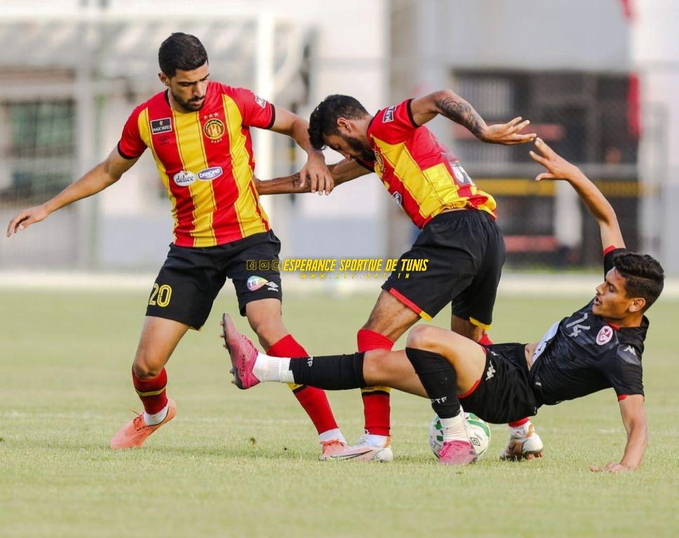 Les images du match amical EST-EN Olympique (1-1)