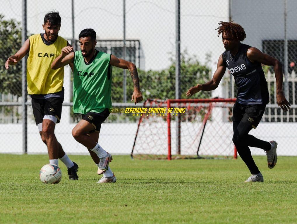 La première séance d'entraînement sous la direction du nouvel entraîneur Radhi Jaidi